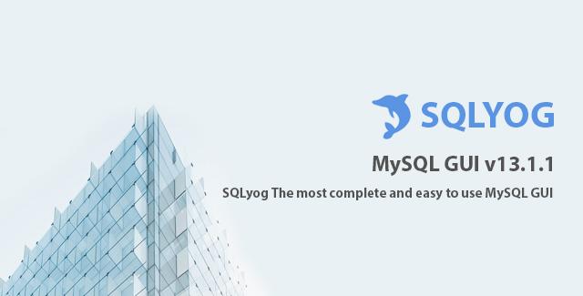 Webyog SQLyog 13.1.1 Ultimate Serial Keys